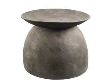 Round ceramic coffee table SPHERE BELL | Coffee table