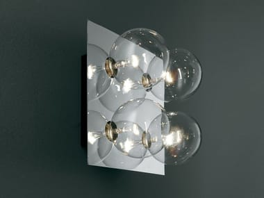 LED direct light halogen crystal wall lamp SPHERE | Wall lamp