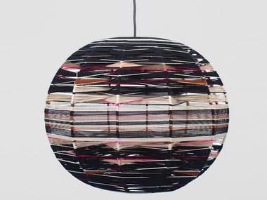 Handmade cotton pendant lamp SPHERE