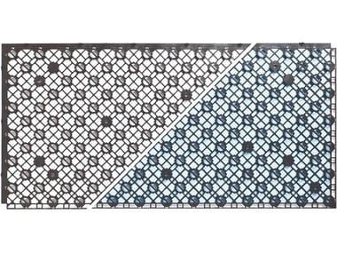 Radiant floor panel SPIDER SLIM