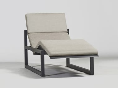 Chaise longue / bain de soleil en aluminium SPIKES | Bain de soleil