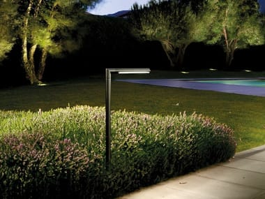 LED die cast aluminium bollard light SPILLO | Bollard light