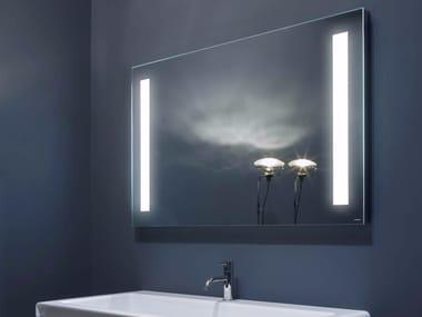 Specchio da parete con illuminazione integrata per bagno SPIO