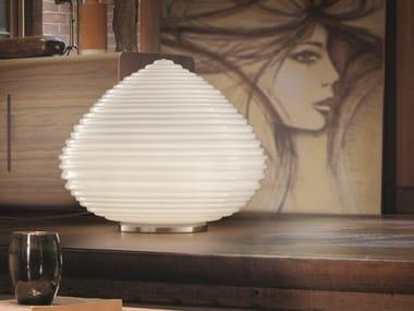 Lámpara de mesa de vidrio soplado SPIRIT LT