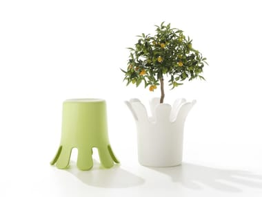 Polyethylene stool / plant pot SPLASH | Stool