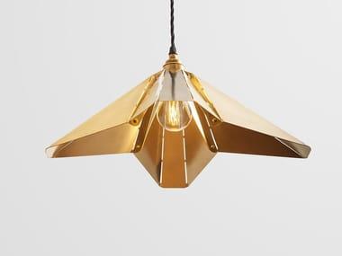 Brass pendant lamp SPLICE SMALL   Pendant lamp
