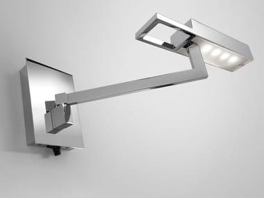 Lampada da parete a LED in metallo con braccio flessibile SPOCK