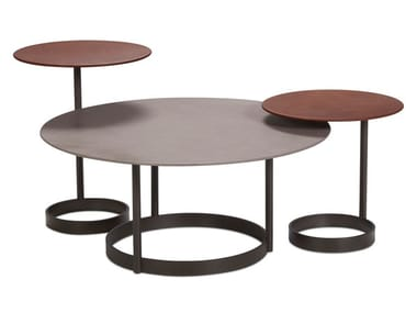 Round coffee table for living room SPOSA