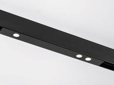 Illuminazione a binario a LED in alluminio verniciato a polvere SPOT DOT MAGNETIC
