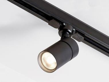 Illuminazione a binario a LED in alluminio verniciato a polvere SPOT TORCH TRACK