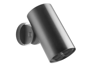 Wall-mounted adjustable steel overhead shower SPOTWATER | Overhead shower