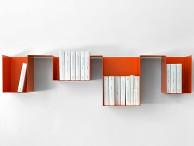 Open modular bookcase SPREAD