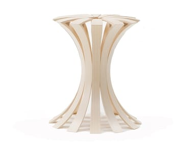 Low bamboo stool SPRING
