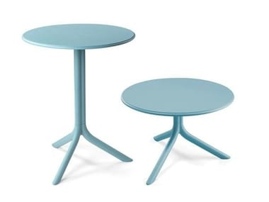 Round garden side table SPRITZ