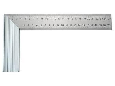 Squadra millimetrata in acciaio SQUADRA MILLIMETRATA