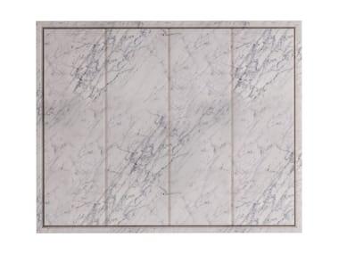 Rectangular Carrara marble shower tray SQUARE | Carrara marble shower tray