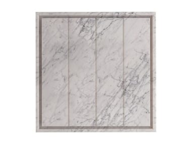 Square Carrara marble shower tray SQUARE | Carrara marble shower tray