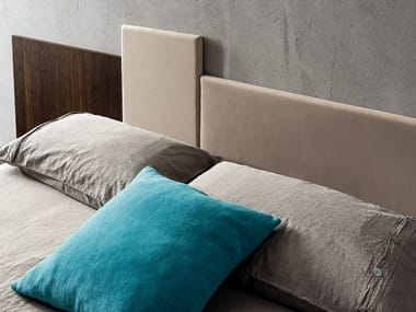 Upholstered fabric headboard SQUARE