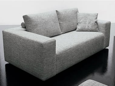2 seater fabric sofa SQUARE | 2 seater sofa
