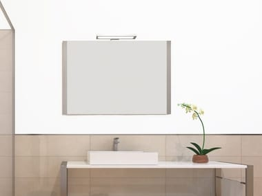 Wall-mounted bathroom mirror SQUARE | Mirror