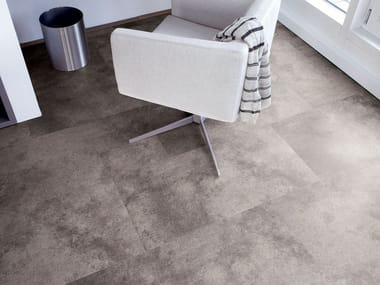 PVC flooring with stone effect ST 201