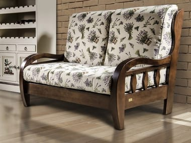 2 Seater Wooden Sofa ST. JOHN | 2 Seater Sofa