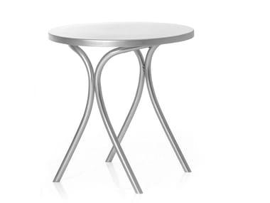 Round Anodized aluminium garden table ST.MARK | Table