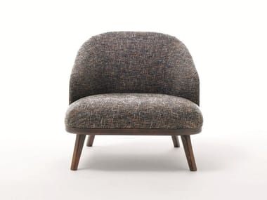 Fabric armchair with armrests ST. TROPEZ