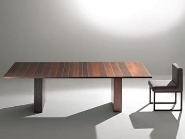 Tavolo rettangolare in metallo ST51 M