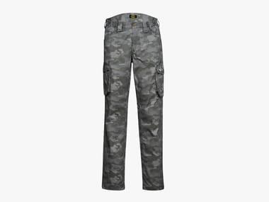 Pantalone da lavoro STAFF ISO GRIGIO ACCIAIO CAMO