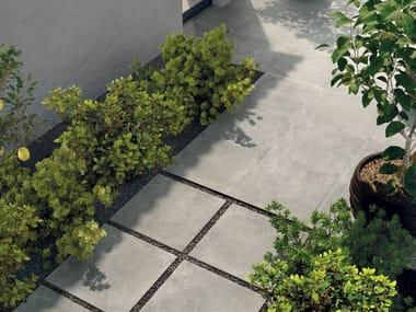 Pavimento in gres porcellanato effetto cemento STAGE GREY