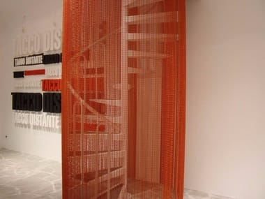 Aluminium chain curtain STAIRS