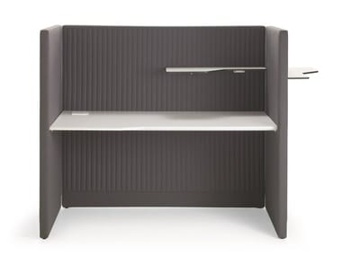 Fabric office workstation STAND BY | Office workstation