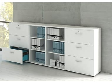 Filing cabinet with lock STANDARD | Filing cabinet