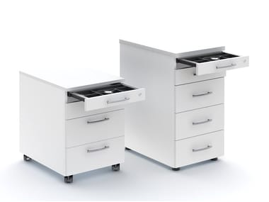 Office drawer unit with casters STANDARD | Office drawer unit