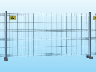 Construction site temporary and mobile fencing STANDARD