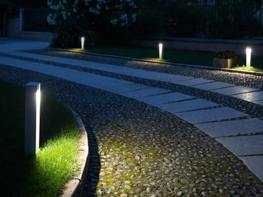 LED aluminium bollard light STANDING