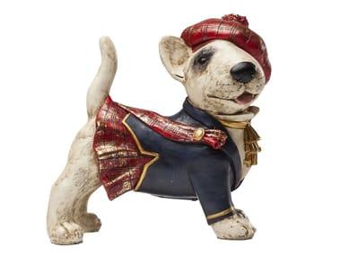 Scultura in resina STANDING SCOT DOG