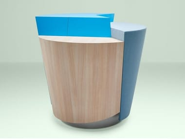 Information point for wooden Reception desk STANDTABLE