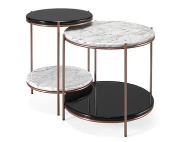 Tavolino di servizio rotondo STANLEY | Tavolino di servizio