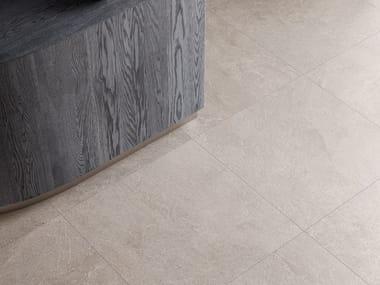 Pavimento/rivestimento in gres porcellanato effetto pietra STAR ROAD SAND