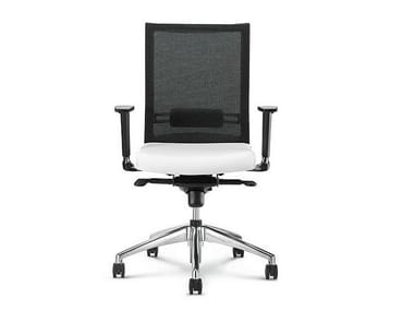 Task chair with 5-Spoke base with casters STAR | Task chair with 5-Spoke base