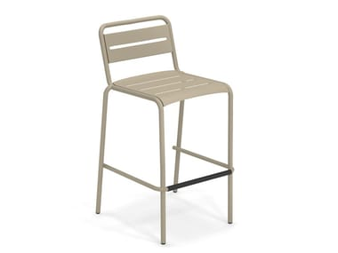 High stackable steel stool STAR | Stool