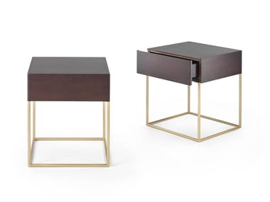 Square bedside table with drawers STARDUST | Bedside table
