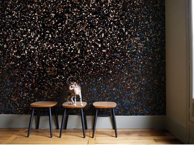 Non-woven paper wallpaper STARDUST