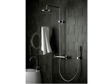 Colonna doccia a parete con soffione STARFLÒ   Colonna doccia
