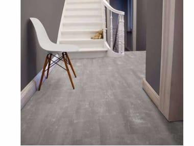 Pavimento in LVT effetto cemento STARFLOOR CLICK 55 | Pavimento effetto cemento