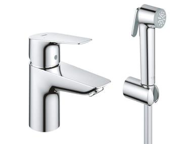 1 hole washbasin mixer with spray START EDGE | Washbasin mixer with spray