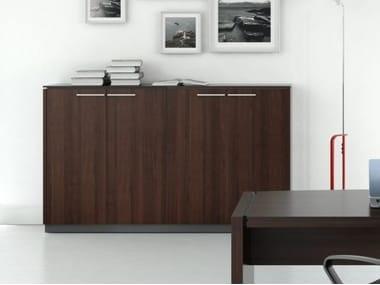 Armário de escritório de aglomerado melamínico STATUS | Armário de escritório