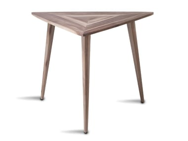Solid wood dining table STEALTH | Table